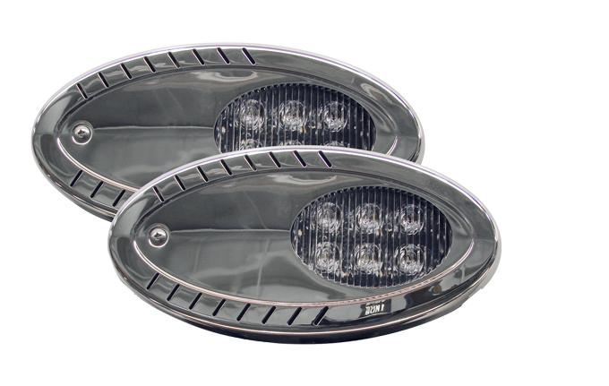 E96: Trailer/Marine LED Surface Mount Spotlight