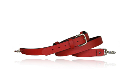 Boston Leather Firefighter's Radio Strap