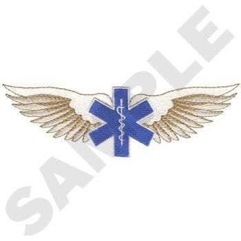 Star Of Life With Wings