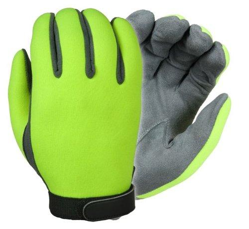 UltraVIZ Unlined Neoprene Gloves with Grey Palms