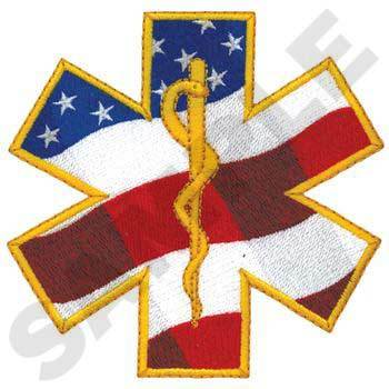 Star of Life Patriotic