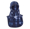 Majestic Apparel Tie Dye PAC II Firefighting Hood in Blue/White