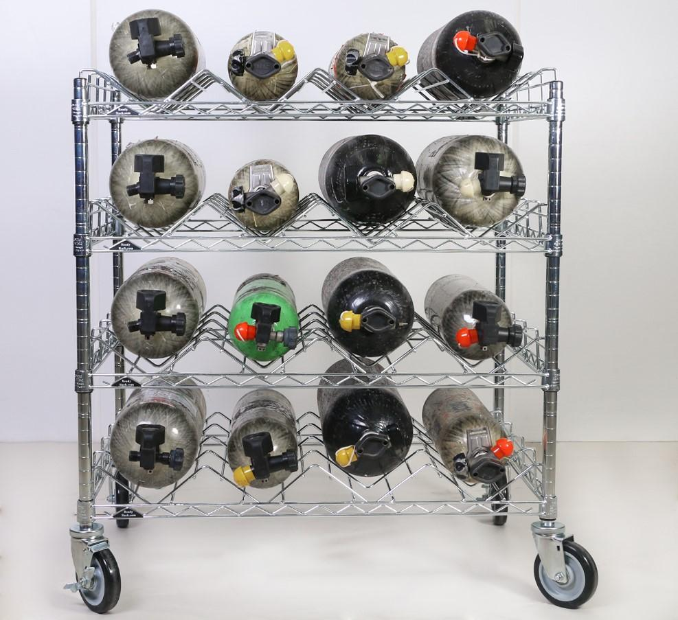 Groves SCBA Bottle Cart