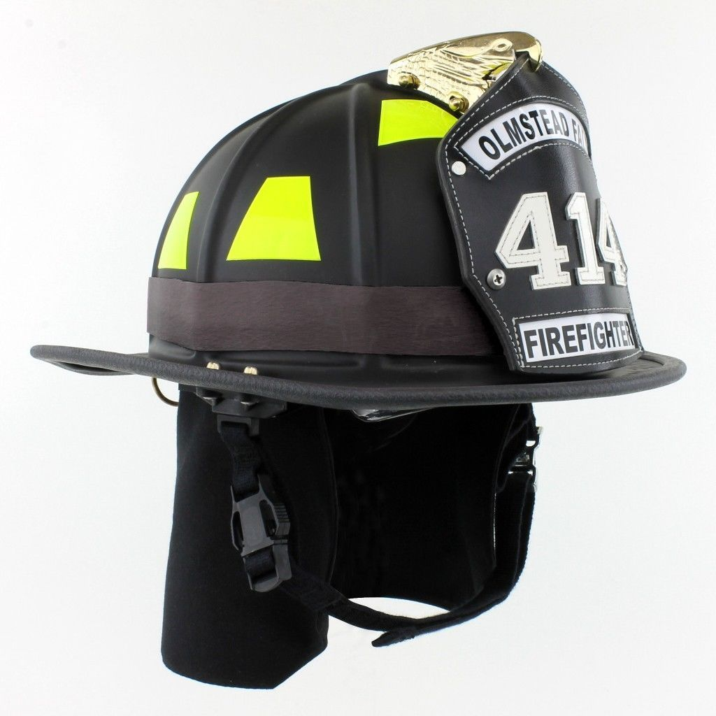 Firefighter Rubber Helmet Strap / Band