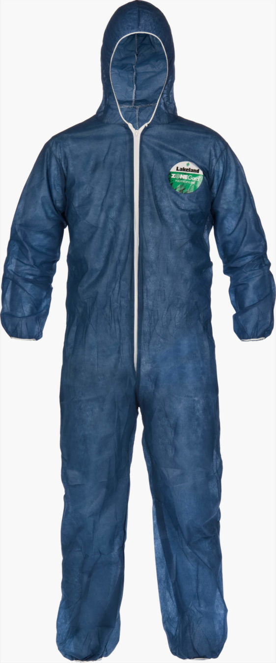 Zone Gard Coverall w/ Hood 25/Case