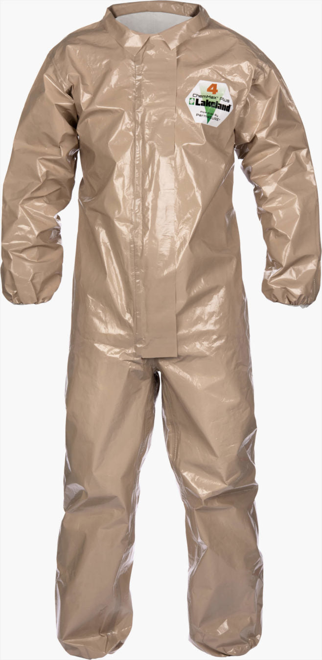 ChemMax 4 Plus Tan Coverall by Lakeland Industries