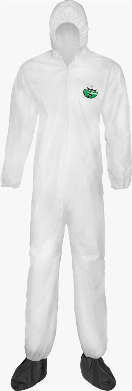 MicroMax NS Coverall Hood/Boots by Lakeland Industries