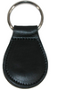 Boston Leather Smooth Leather Tear Drop Key Fob