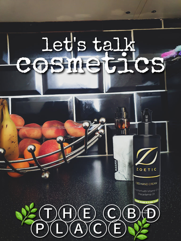 CBD cosmetics - are they buzzwording right now