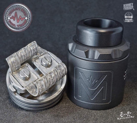 Tin - The Flatline Rda by Vitality mod co