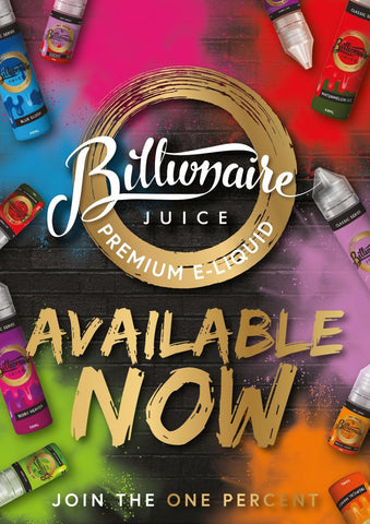 FULL RANGE  - BILLIONAIRE JUICE 6 x 50ML