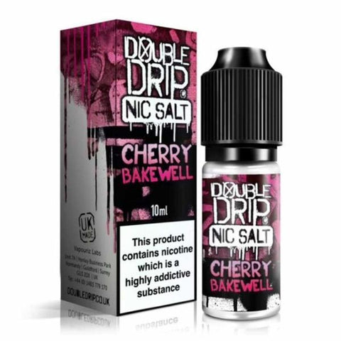 10MG Double Drip  10ML Flavoured Nic Salts E Liquid - secondvape