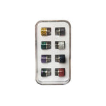 Replacement 510 Drip Tip Set - Pack of 8