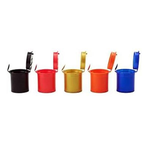 600 x 6 Dram Pop Top Storage Bottles - Mixed Colours - secondvape