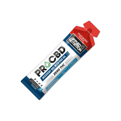 Applied Nutrition Pro CBD Sport Recovery Gel - Fruit Burst 20x 60g pouches - secondvape