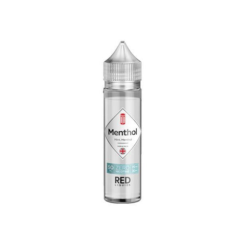 Red Classic by Red Liquids 0MG 50ml Shortfill (70VG/30PG) - Menthol - Red Kola - The Blue One - The Pink One - The Red One - The Black Ice - Black + White - Red + Black