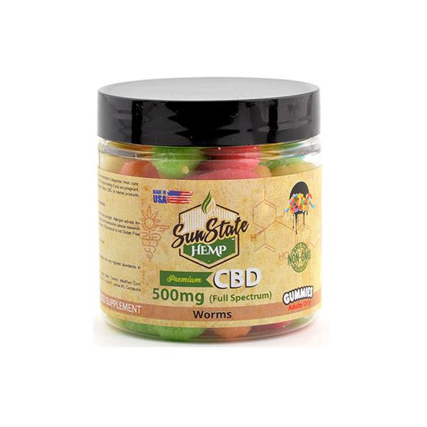 Sun State Hemp 500mg CBD Gummies