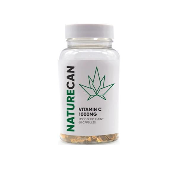 Naturecan 1000mg CBD Vitamin C Capsules - 60 Caps - Default Title