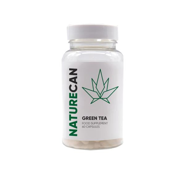 Naturecan 500mg CBD Green Tea Extract 60 Capsules - Default Title