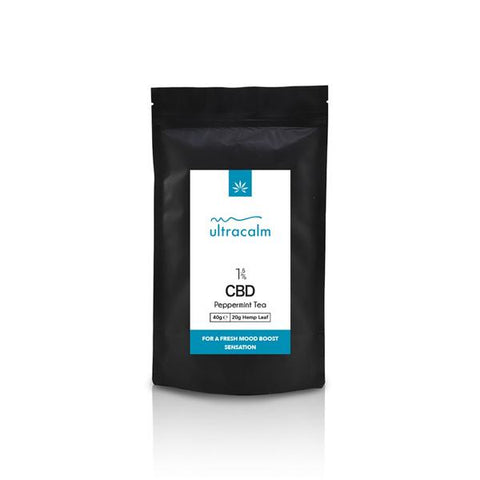 Ultracalm 1.5% CBD Hemp Tea - Peppermint 40g