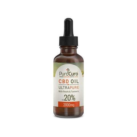 PuroCuro 5% Ultra Pure 500mg CBD Oil 10ml