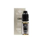 Dr Watson 1000mg Pure Base CBD Vaping Liquid 10ml