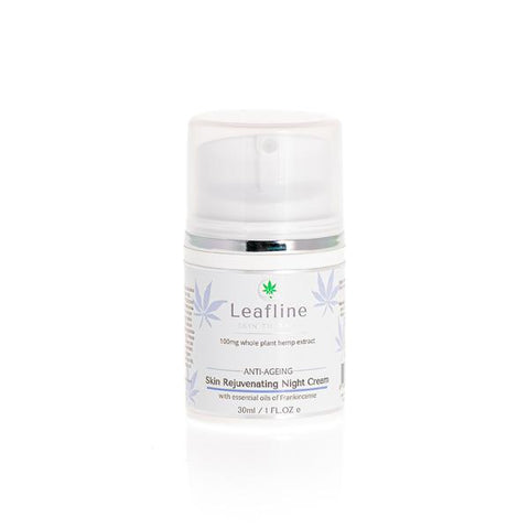 CBD Leafline 100mg CBD Skin Rejuvenating Night Cream 30ml