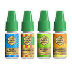 QCig Gold E-Liquids 10ml 18mg (60VG/40PG)