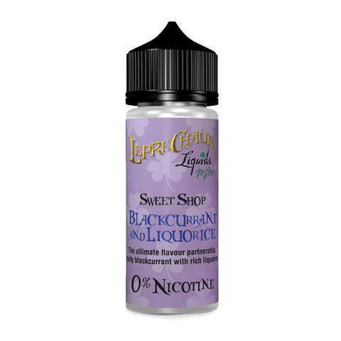 Leprechaun Sweet Shop 120ml (100ml Shortfill + 2 x 10ml Nic Shots) (70VG/30PG)