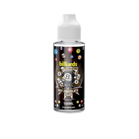 Billiards Baristas Range 100ml Shortfill 0mg (70VG/30PG)