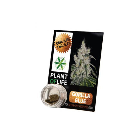 CBD Hash 1g Gorilla Glue 3.8% - secondvape