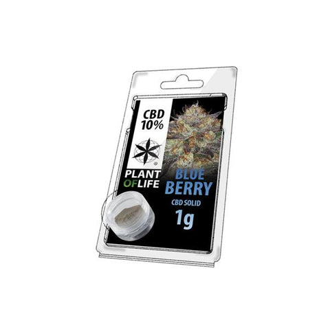 CBD Hash 1g Blue Berry 10% - secondvape