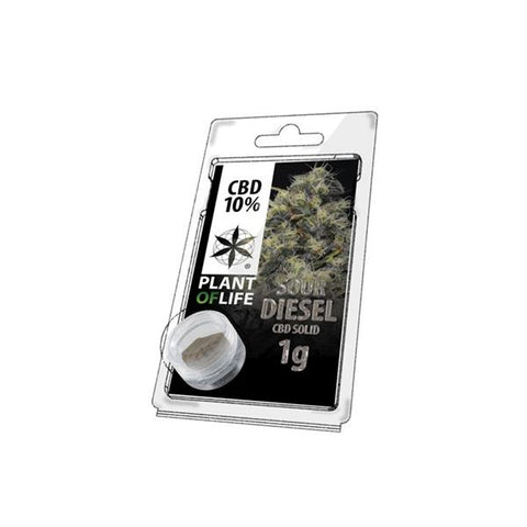 CBD Hash 1g Sour Diesel 10% - secondvape