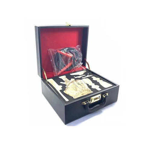 Portable Glass Hookah In Suitcase - SY59 - secondvape