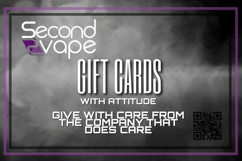 SecondVape Giftcards