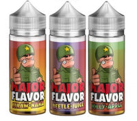 MAJOR FLAVOR - STRAW NANA - STRAWBERRY AND BANANA 100ml - secondvape