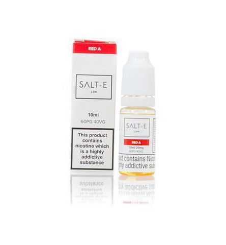 20mg (SALT - E LIQUID) - RED A - secondvape