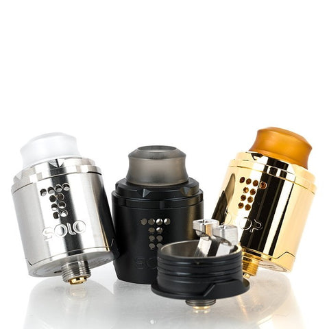 Drop solo 22 mm RDA by DigiFlavour (The vapor chronicles) - secondvape