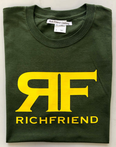 Yellow & Olive Green t shirt