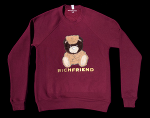 Teddy Fur Crewneck