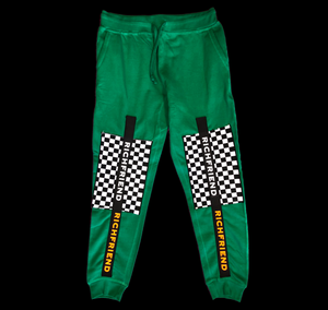 Green & Checkered board sweats