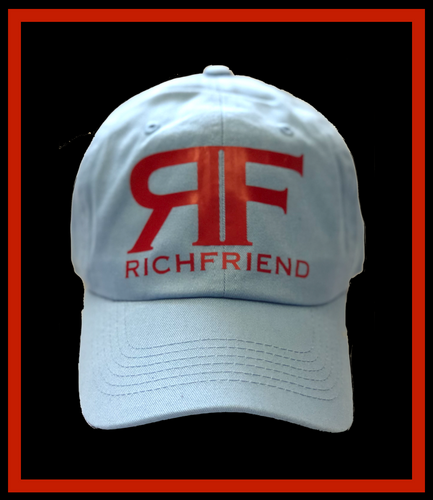 RF Light Blue Dad Cap