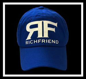 Rich Royal Blue dad cap