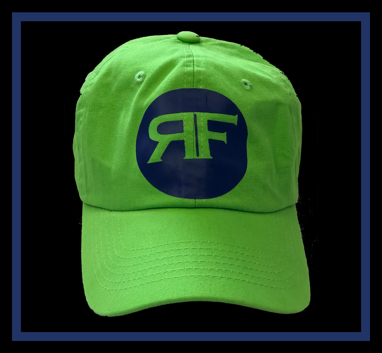 Rich Slime Green dad cap