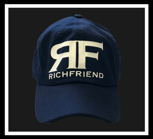 Rich Navy Blue dad cap