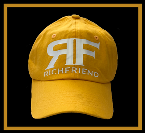 RF Richfriend Yellow Dad cap