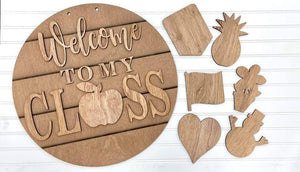 Interchangeable Classroom Sign - My Treasured Gifts Co