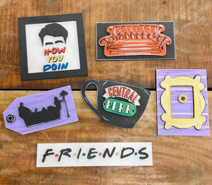 Friends Tiered Tray Decor - My Treasured Gifts Co