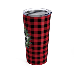 Cup of Holiday Cheer Tumbler 20oz - My Treasured Gifts Co