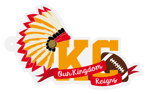 Our Kingdom Reigns KC Acrylic Keychain - My Treasured Gifts Co